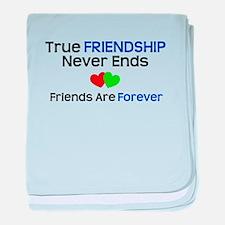 Friendship Forever baby blanket