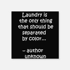 Laundry separated by color Sticker
