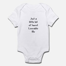 Just a little bit of Sweet Lo Infant Bodysuit