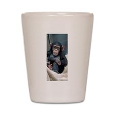 Chimpanzee 007 Shot Glass