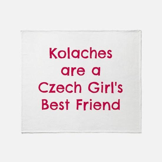Unique Czechoslovakia Throw Blanket