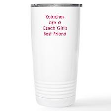 Cute Czechoslovakia Thermos Mug