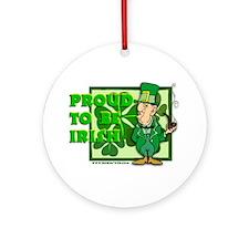 Proud to be Irish Ornament (Round)