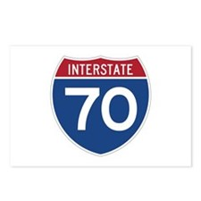 Interstate 70 Postcards (Package of 8)