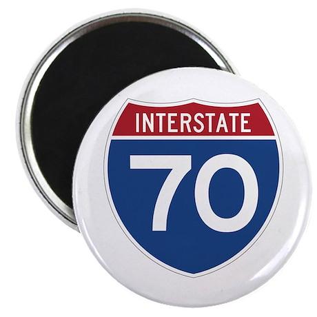 Interstate 70 Magnet