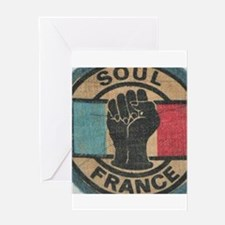 FRENCH NORTHERN SOUL Greeting Cards