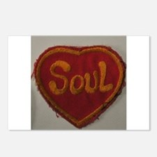 SOUL HEART Postcards (Package of 8)