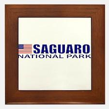 Saguaro National Park Framed Tile