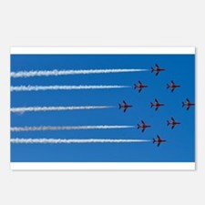 RED ARROWS Postcards (Package of 8)