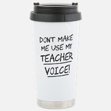 Unique Funny teacher Travel Mug