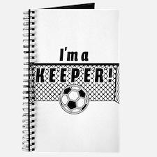 Im a Keeper soccer fancy black.png Journal