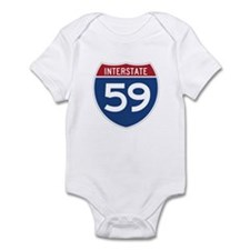 Interstate 59 Infant Bodysuit
