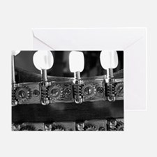 Mandolin Pegs Greeting Card