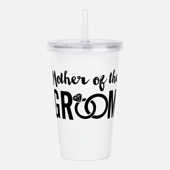 mother of the groom Acrylic Double-wall Tumbler