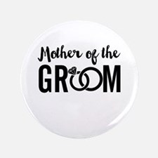 "mother of the groom 3.5"" Button (100 pack)"