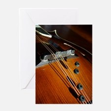 Mandolin Color Greeting Card