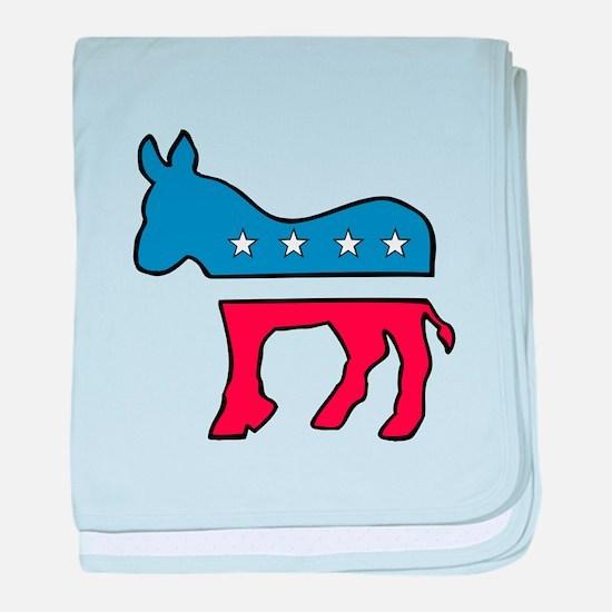 Democrat baby blanket