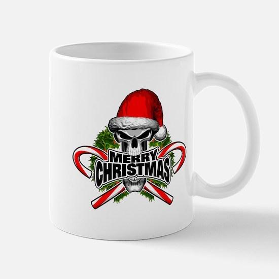 Santa Skull Mugs