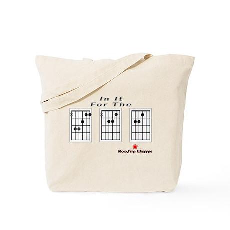 """""""FAME"""" chord Tote Bag"""