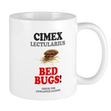 BED BUGS - UNWANTED HOTEL GUESTS! - Mugs