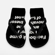 FACEBOOK JEHOVAH Flip Flops