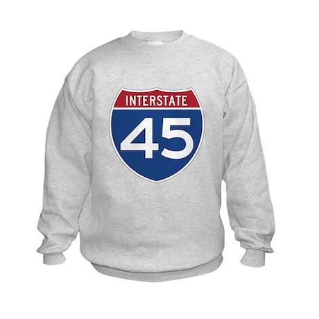Interstate 45 Kids Sweatshirt