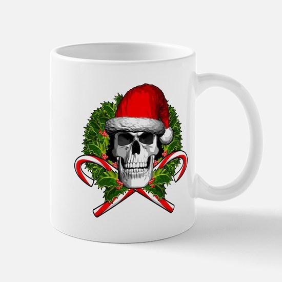 Christmas Skull Mugs