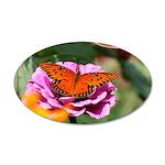 Butterfly Flower Garden Wall Decal
