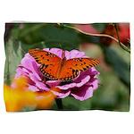 Butterfly Flower Garden Pillow Sham