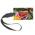 Butterfly Flower Garden Luggage Tag