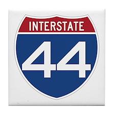 Interstate 44 Tile Coaster