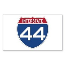 Interstate 44 Rectangle Decal