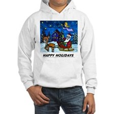 Happy Holiday Apparell Hoodie