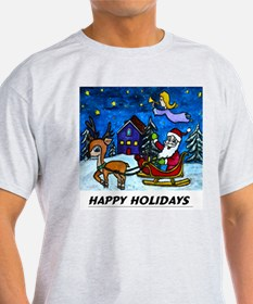 Happy Holiday Apparell T-Shirt