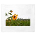 Sunflower In Field King Duvet