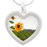 Sunflower In Field Necklaces