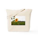 Sunflower In Field Tote Bag