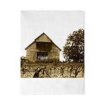 Old Kentucky Barn Twin Duvet