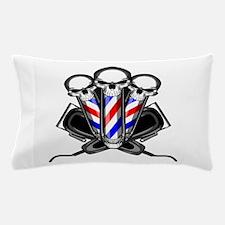 Barber Skulls Pillow Case