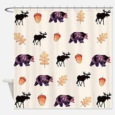 Moosebear Shower Curtain