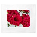 Pretty Red Roses King Duvet