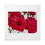 Pretty Red Roses Queen Duvet