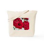 Pretty Red Roses Tote Bag