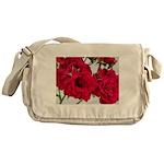 Pretty Red Roses Messenger Bag