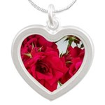 Pretty Red Roses Necklaces