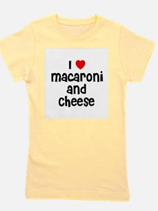 Cute I love mac cheese Girl's Tee