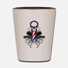 Barber Skull: Barber Tools Shot Glass