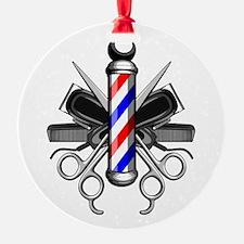Barber Logo Ornament