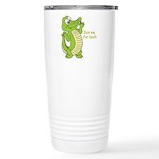 Unique Crocodiles Stainless Steel Travel Mug