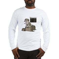 Cancelled Flight Humor Long Sleeve T-Shirt